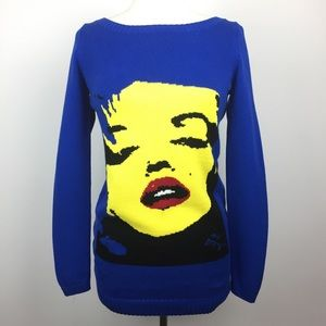 Betsey Johnson Marilyn Monroe Tunic Sweater